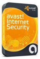 Антивирус Avast! Internet Security 6.0 1ПК 1рік Русский / Английский