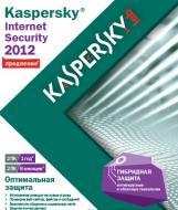 Антивирус Kaspersky Internet Security 2012 продление на 1год 2 ПК Русская