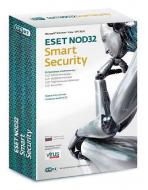 Антивирус Eset NOD32 Smart Security DVD BOX 1год 2ПК Русская