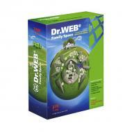 Антивирус Dr. Web® Windows Family Space 12 міс. 3ПК Русская