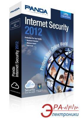 Антивирус Panda Internet Security 2012 ОЕМ 1ПК 6 місяців сервісу Русская
