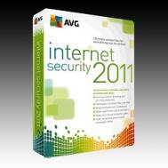 Антивирус AVG Internet Security 2011 1-Desktop 1 year Box Русская