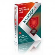 Антивирус Kaspersky Anti-Virus 2013 BOX 1год 2 ПК Русская