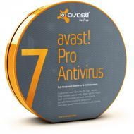 Антивирус Avast! Pro Antivirus 7 BOX 1 комп., 12 мес Русская