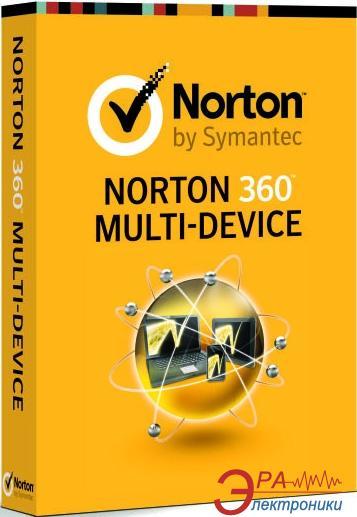 Антивирус Symantec Norton 360 Multi-Device 1.0  (21262803) 1 USER 5LIC Русская