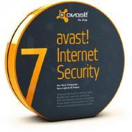 Антивирус Avast! Internet Security 7.0 BOX 3ПК/ 1 рік Русский / Английский