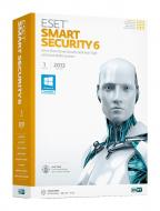 ��������� Eset NOD32 Smart Security 6 1��� 2�� ������� / ����������
