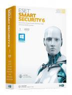 Антивирус Eset NOD32 Smart Security 6 1год 2ПК Русский / Английский