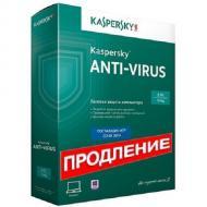 Антивирус Kaspersky Anti-virus 2014 Renewal (KL1154OUBFR) Продление Русская