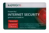 Антивирус Kaspersky Internet Security Multi-Device 2014 Renewal Card (KL1941OOBFR) 2 пк 12 мес Русская