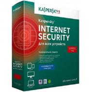 Антивирус Kaspersky Internet Security Multi-Device 2014 Base (KL1941OUEFS) 5 комп., 12 мес Русская