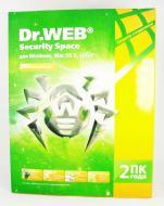 Антивирус Dr. Web® Security Space 9.0 (BHW-A-24M-2-A3) 2 ПК/2 Русская