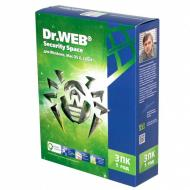 Антивирус Dr. Web® Security Space 9.0 (BHW-A-12M-3-A3) 3 ПК/1 Русская