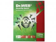 Антивирус Dr. Web® Security Space 9.0 (BHW-A-12M-2-A3) 2 ПК/1 Русская