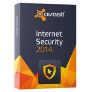 Антивирус Avast! Internet Security 2014 Box 3 PC /1 year Русская