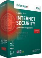Антивирус Kaspersky Internet Security 2015 Multi-Device Base Box (KL1941OBBFS) 2 ПК 1 год Русская
