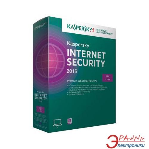 Антивирус Kaspersky Internet Security 2015 Multi-Device 1 ПК 1 год Base Box 1 год 1ПК продление Русская