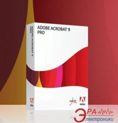 Графический пакет Adobe Acrobat Professional 9 Windows Ukrainian Retail (22020752) Украинская Retail