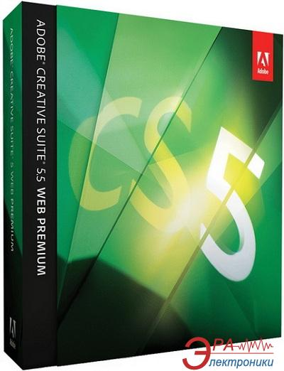 Графический пакет Adobe Creative Suite 5.5 Web Premium Windows (65118846) Украинская Retail