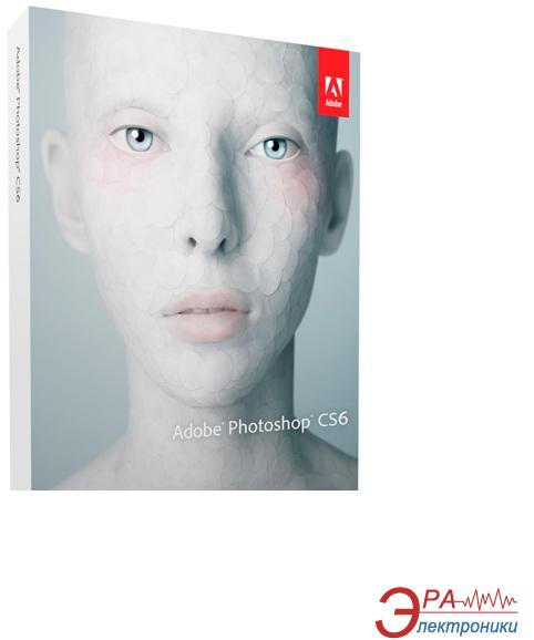 Графический пакет Adobe Photoshop CS6 13 Windows Ukrainian Украинская Retail