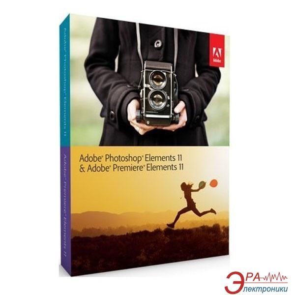 Графический пакет Adobe Photoshop Elements 11 & Adobe Premiere Elements 11 Windows Russian Retail (65193283) Русская