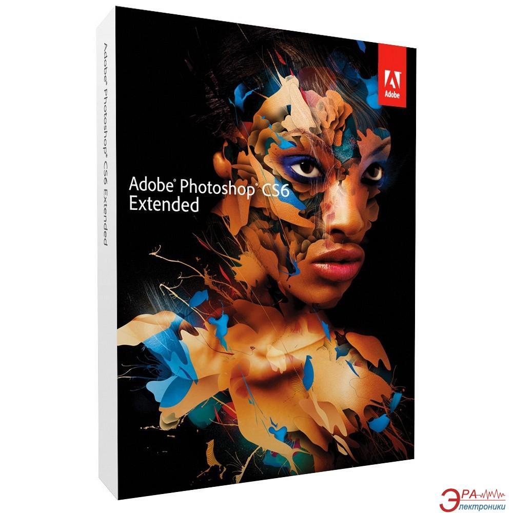Графический пакет Adobe Photoshop Extended CS6 13 Windows Retail (65170127) Украинская OEM