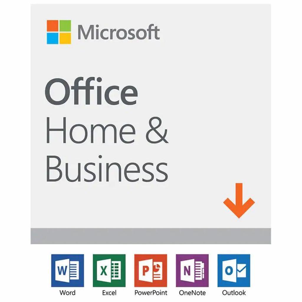 Офисные приложения Microsoft Office Home and Business 2019 Ukrainian Medialess (T5D-03278)