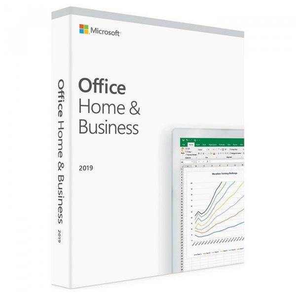 Офисные приложения Microsoft Office Home and Business 2019 English Medialess (T5D-03245)