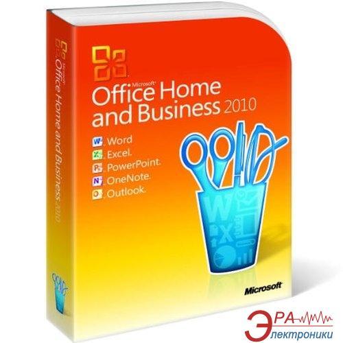 Пакет офисных приложений Microsoft Office Home and Business 2010 32-bit/ x64 Russian CEE DVD (T5D-00412)