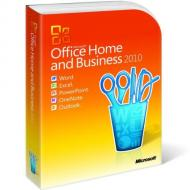 Пакет офисных приложений Microsoft Office Home and Business 2010 32-bit/ x64 Russian CEE DVD (T5D-00412)