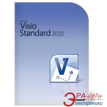 Офисное приложение Microsoft Visio Std 2010 32-bit/ x64 Russian DVD BOX (D86-04153)
