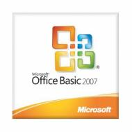 Пакет офисных приложений Microsoft Office Basic 2007 32-bit English 1pk (MLK V2) (S55-02515)