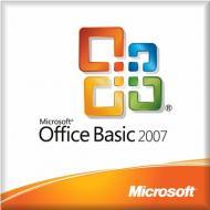 Пакет офисных приложений Microsoft Office Basic 2007 32-bit Russian OEM MLK (S55-02293)