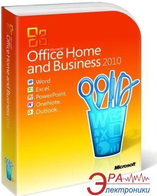 Пакет офисных приложений Microsoft Office 2010 Home and Business Russian ОЕМ (T5D-00044)