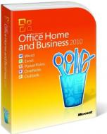 ����� ������� ���������� Microsoft Office 2010 Home and Business Russian ��� (T5D-00044)