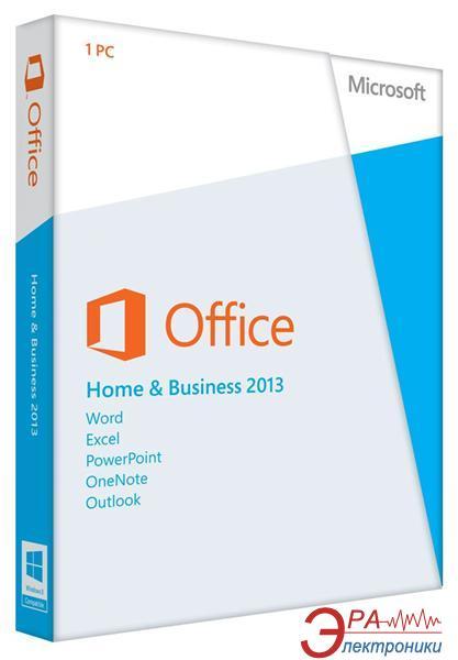 Пакет офисных приложений Microsoft Office Home and Business 2013 (T5D-01761)