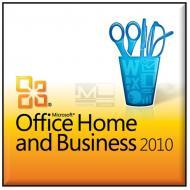 Пакет офисных приложений Microsoft Office 2010 Home and Business Russian CD ОЕМ (T5D-01549)