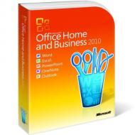 ����� ������� ���������� Microsoft Office Home and Business 2010 32-bit/ x64 Ukrainian DVD (T5D-00186)