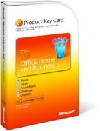 Пакет офисных приложений Microsoft Office Home and Business 2010 Ukrainian PC Attach Key PKC Microcase (T5D-00322)