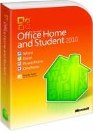Пакет офисных приложений Microsoft Office Home and Student 2010 32-bit/ x64 English DVD (79G-02086)