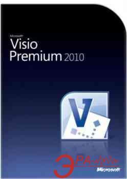 Офисное приложение Microsoft Visio Premium 2010 32-bit/ x64 Russian DVD (TSD-00028)