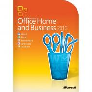 Пакет офисных приложений Microsoft Office 2010 Home and Business 32-bit/x64 ENGLISH DVD BOX (T5D-00417)