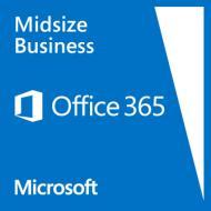 Пакет офисных приложений Microsoft Office 365 Midsize Business Open Shared Server Single Subscription Volume License OPEN No Level Annual Qualified (5GV-00003)