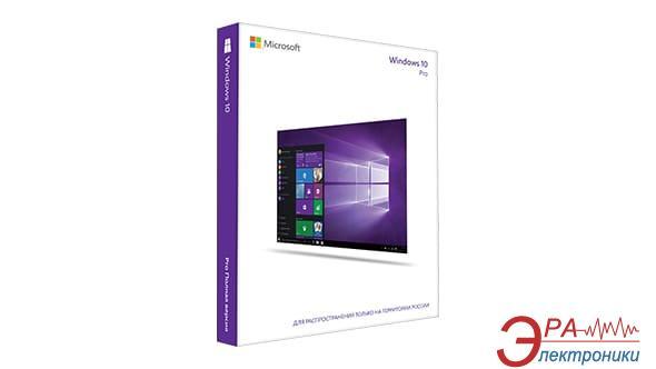 Операционная система Microsoft Windows 10 Pro 32-bit Ukrainian 1pk DVD (FQC-08945) OEM
