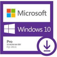 Операционная система Microsoft Windows 10 Pro 32/64-bit (FQC-09131) электронная лицензия