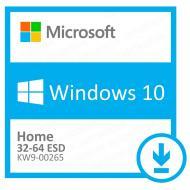 Операционная система Microsoft Windows 10 Home 32/64-bit (KW9-00265) электронная лицензия