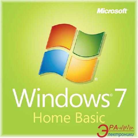 Операционная система Microsoft Windows 7 Home Basic 32-bit (F2C-00884) OEM