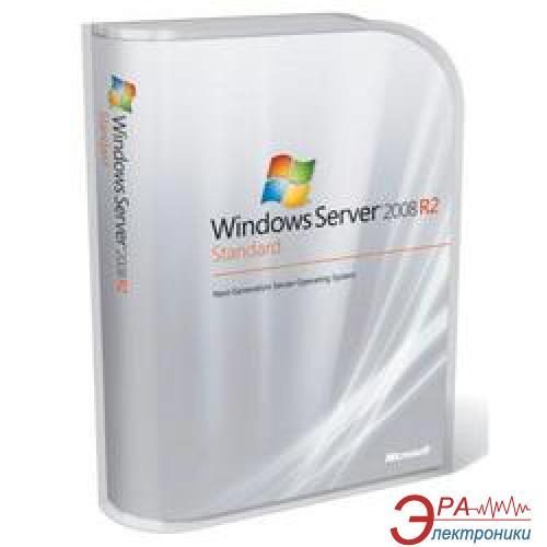 Операционная система Microsoft HP Windows Server 2008 R2 Standard (589256-021) BOX