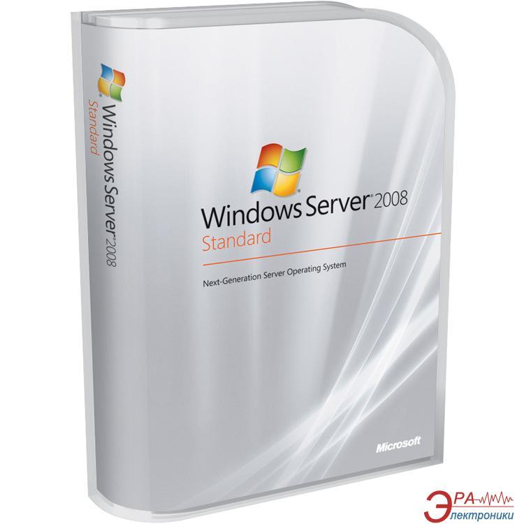 Операционная система Microsoft Windows Server Standart 2008 R2 SP1 x64 (P73-05128) BOX