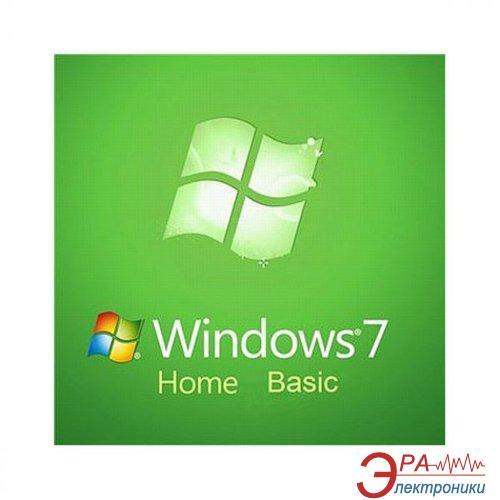 Операционная система Microsoft Windows 7 SP1 Home Basic 64-bit (F2C-00886) OEM